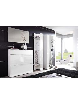 Garderobenschrank »Primera« weiß Viel Stauraum bieten Ablageböden und Kleiderstange