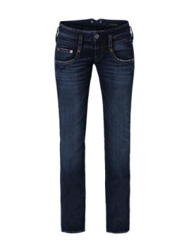Pitch Straight-fit-Jeans blau