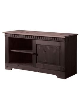 Landhaus TV-Lowboard, braun, Kiefer, FSC-zertifiziert