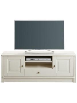 Landhaus TV-Lowboard, weiß, Kiefer »Soeren«, FSC-zertifiziert