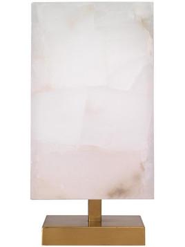 Dorian Table Lamp - 16Hx7Square White