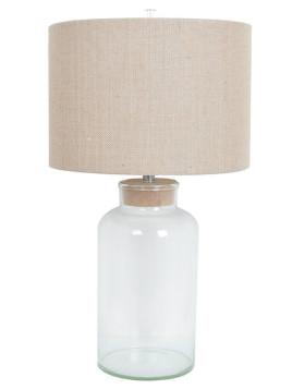 Seren Table Lamp - 30Hx16Diameter Clear