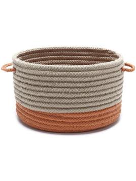 Shore Storage Basket - 12Hx12Wx12D Orange