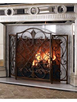 Valencia Fireplace Screen - Neiman Marcus