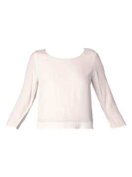 Gerade Kleider - qh30314 - Weiß / Naturfarben