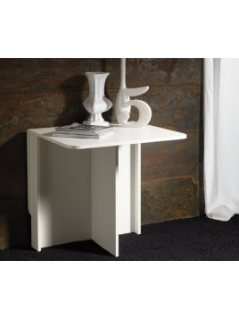 Console extensible SNACK design blanc