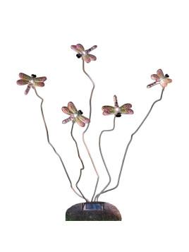 EEK A+, Außenleuchte Assisi Libelle - Kunststoff - 5-flammig, Konstsmide