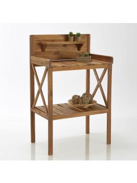 Table de jardinage en acacia huilé