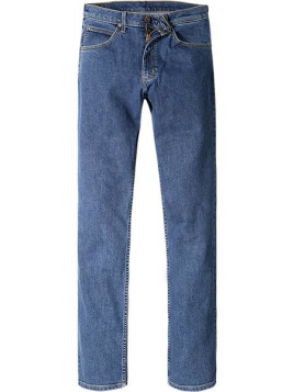 Herren Bluejeans Regular Fit Baumwoll-Stretch jeansblau