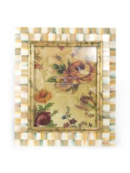 Parchment Check 8 x 10 Frame