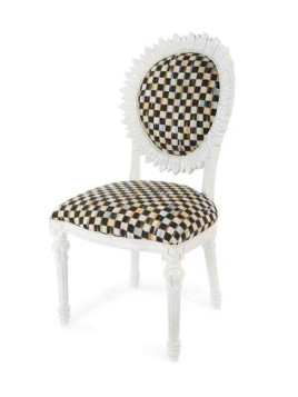 Sunflower White Outdoor Chair