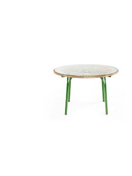 Lyra runder Gartentisch (6 Personen), Grün