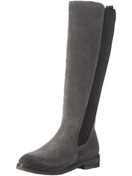 Damen 25610 Langschaft Stiefel, Grau (Grey Antic 212), 39 EU