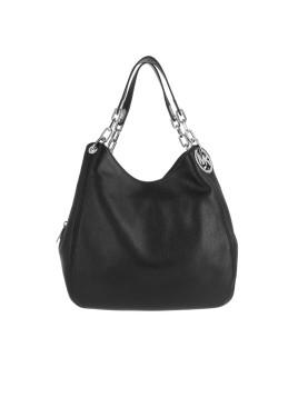 Tasche - Fulton LG Shoulder Tote Black - in schwarz - Henkeltasche für Damen