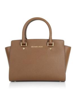Tasche - Selma MD TZ Satchel Luggage - in braun - Henkeltasche für Damen