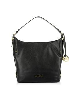 Tasche - Bedford Belted LG Shoulder Bag Black - in schwarz - Henkeltasche für Damen