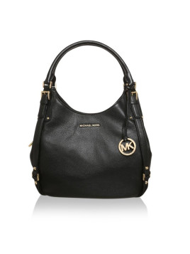 Tasche - Bedford Belted LG Shoulder Tote Black - in schwarz - Henkeltasche für Damen