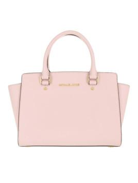 Tasche - Selma MD TZ Satchel Bag Blossom - in gold, rosa, beige - Henkeltasche für Damen