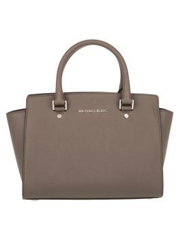 Tasche - Selma MD TZ Satchel Cinder - in braun, beige, grau - Henkeltasche für Damen