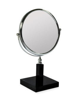 Ice 3X Magnifying Mirror, Black - Mike & Ally