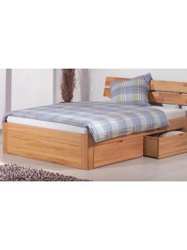 Parma Bett mit Kopft. Parma + 4 Schubl. 160x200