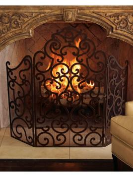 Fireplace Screen - Neiman Marcus