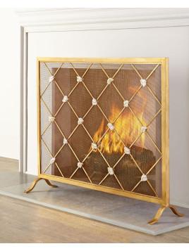 Giallastro Fireplace Screen - Neiman Marcus