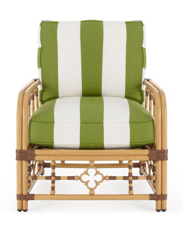 Mimi Outdoor Lounge Chair, Green - Neiman Marcus