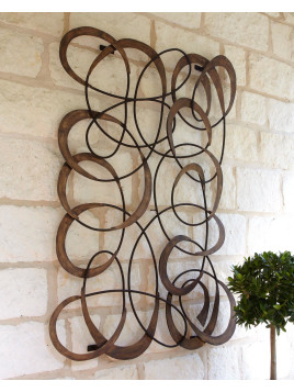 Mingling Circles Wall Decor - Neiman Marcus