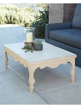 Silhouette Outdoor Coffee Table - Neiman Marcus