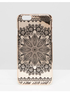 Paisley Print iPhone 6/6s Case - Pink