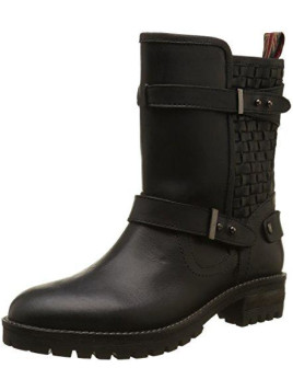 Damen Helen Interlaced Biker Boots