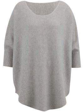 Pullover aus reinem Kaschmir cashmere grau