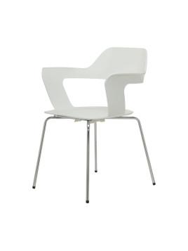 Mu Stuhl weiß