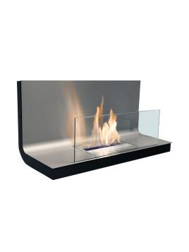 Wall Flame I Ethanol Feuerstelle Edelstahl