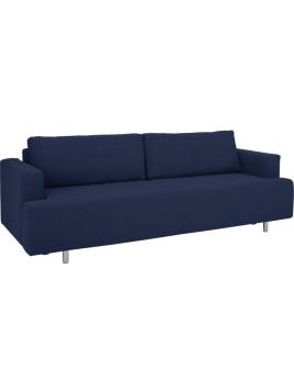 Schlaf-Couch »Basic 12« mit Dauerschlaffunktion, reposa, blau