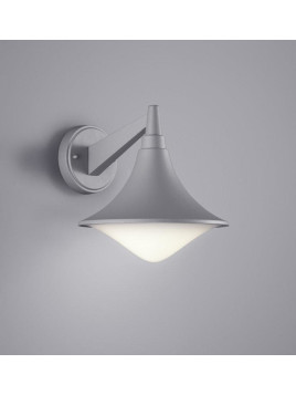 LED-Wandleuchte, Wandlampe Loire - Außenleuchte - Titan