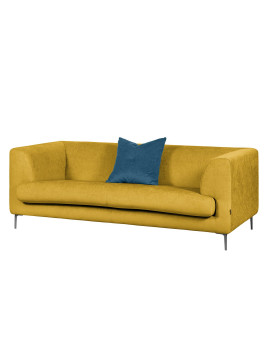 Sofa Sombret (2,5-Sitzer) - Webstoff - Sonnengelb, Says Who