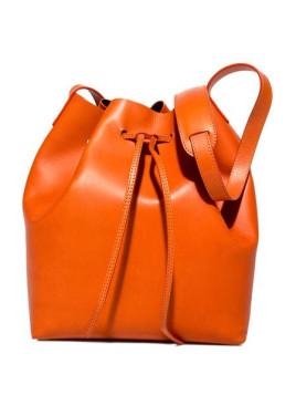 brema maxi bucket bag color orange