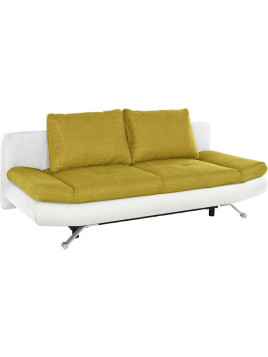 Auszieh-Sofa, sit&more, weiß, Ohne Armlehnenfunktion
