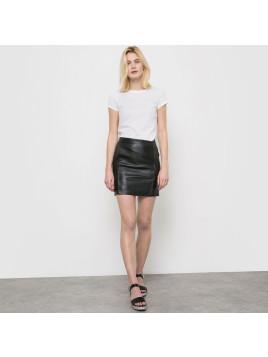 jupes en cuir achetez 326 marques jusqu 39 75 stylight. Black Bedroom Furniture Sets. Home Design Ideas