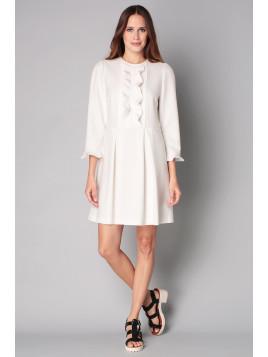 Robe noire et blanche tara jarmon
