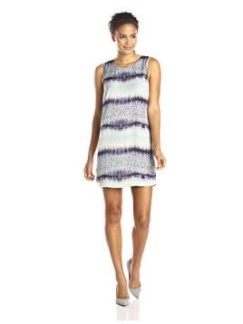 Womens Carly Printed Tank Dress
