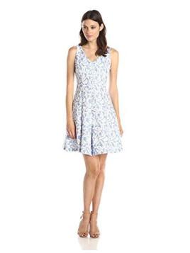 Womens Novelty Jacquard Sundress Dress