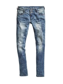 Damen TIMEZONE Jeans »EnyaTZ 3944 destroyed loom wash«