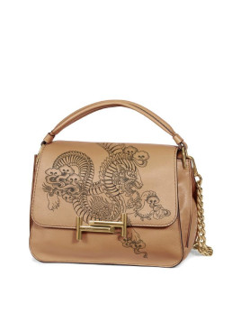Tods Double T Tattoo-Inspired Messenger Bag