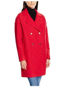 Damen Mantel Rider Boiled Wool Coat