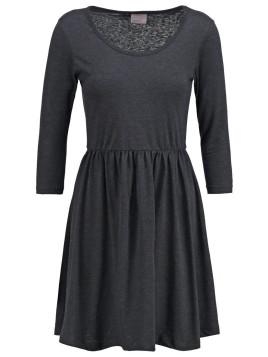 VMGRACE Jerseykleid dark grey melange