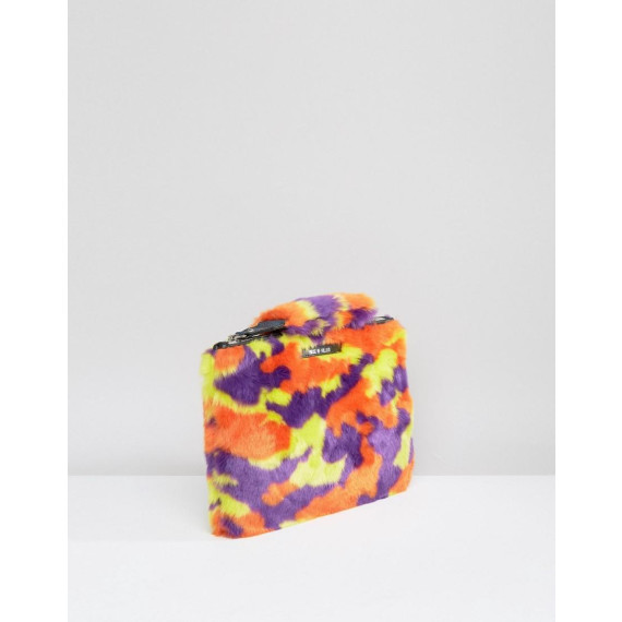 House Of Holland Camo Clutch Bag - Multi