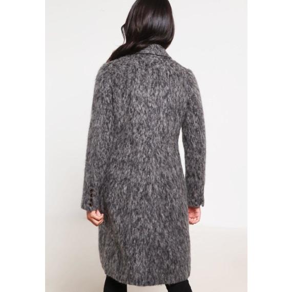 NIKKI Wollmantel / klassischer Mantel antracite